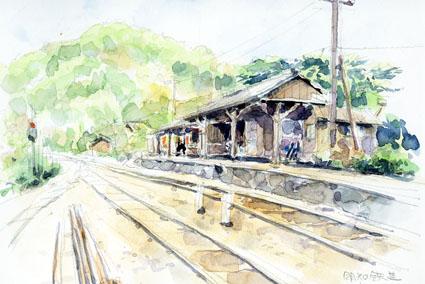 明智線岩村駅 のコピー
