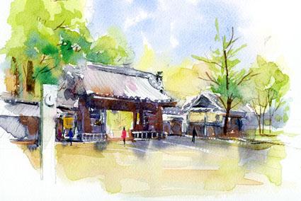 徳川園山門 のコピー2
